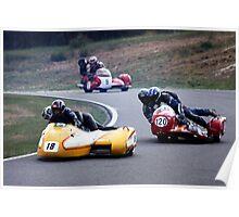Swingers Grit - Sidecar Road Racing Poster