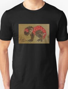 'Monkey' by Katsushika Hokusai (Reproduction) T-Shirt