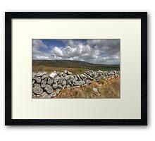 Rural Burren View Framed Print