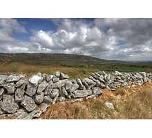Rural Burren View Photographic Print