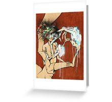 Self Trepanation Greeting Card