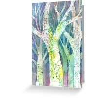The Watercolored Forest Greeting Card