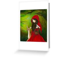 Lil' Red Greeting Card