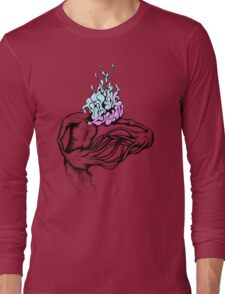 Gathering My Thoughts for the Night Long Sleeve T-Shirt