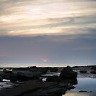 Sunrise over Rocks by TMphotography