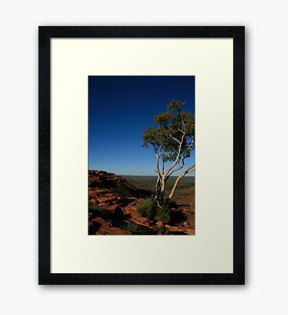 King's ridge Framed Print