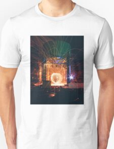 Industrial Sparks Unisex T-Shirt