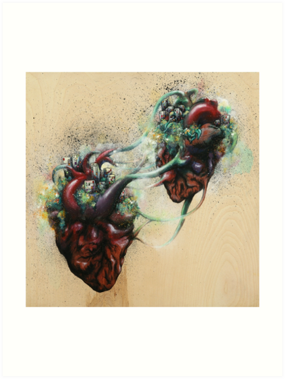 Arrested Vascular Fusion of Two Entities in Need by Daryll Peirce