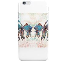 rainbow fish iPhone Case/Skin