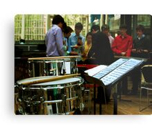 Percussion Ensemble Metal Print