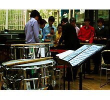 Percussion Ensemble Photographic Print