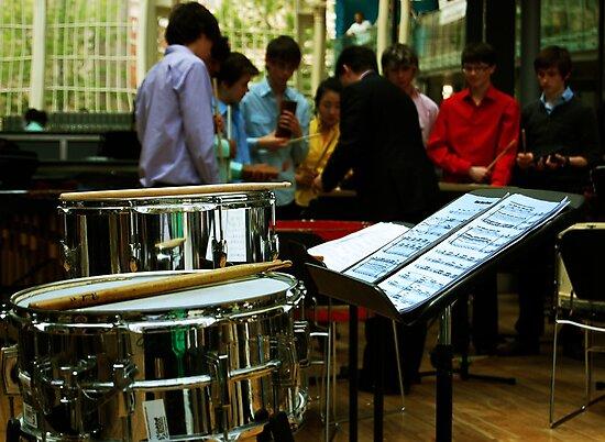 Percussion Ensemble by shakey123