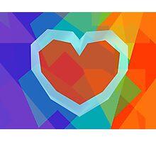 Heart (LGBT) Photographic Print