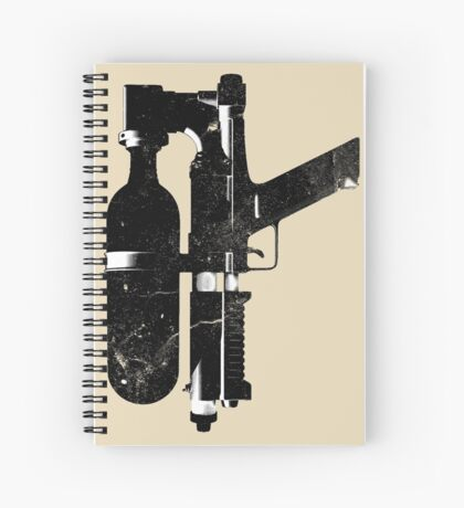 Water-Gun Spiral Notebook