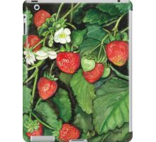 Strawberries - Fresh and Ready to Harvest iPad Case/Skin