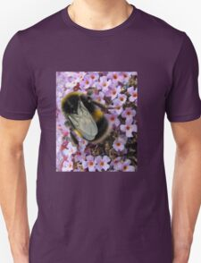 Up Close and Personal - Bumble Bee at Work  Unisex T-Shirt