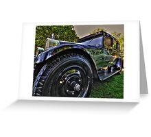 Nash Touring  1928 Greeting Card