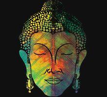 Buddha on pipal leaf Unisex T-Shirt