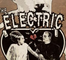 The Electric Connection (Old Paper Poster) Sticker