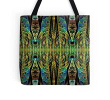 Tribal patterns, fractal abstract Tote Bag
