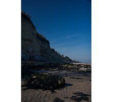 Pett Level Coast Line Photographic Print