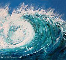 Australian wave by Charlotte Sarah Rhodes