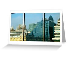 Office on the Thames Greeting Card