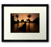 Just Water but Everywhere Framed Print