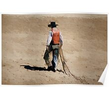 Lone Cowboy Poster