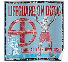 The Lifeguard Creature Is On Duty (2) variant Poster