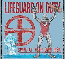The Lifeguard Creature Is On Duty (1) variant  by torg