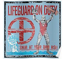 The Lifeguard Creature Is On Duty (1) variant  Poster