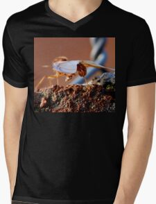 ©NS V Wings IIIA. Mens V-Neck T-Shirt