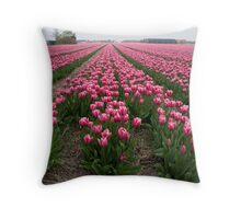 Just tulips Throw Pillow