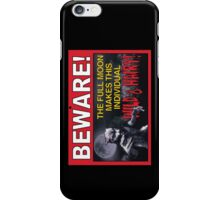 BEWARE!: The Full Moon Makes This Individual WILD & HAIRY! iPhone Case/Skin