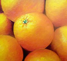 Juicy oranges by Charlotte Sarah Rhodes