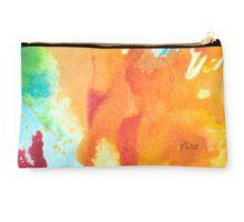 Play Affirmation - Bright abstract Painting Studio Pouch