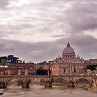 Rome view to St. Peter by Hilthart Pedersen