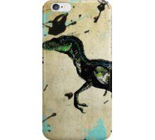 Raptor Blue iPhone Case/Skin