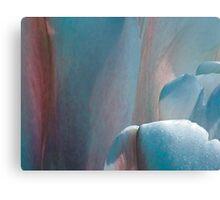 Tulip - blue Canvas Print