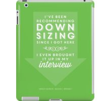 The Office Dunder Mifflin - Recommending Downsizing iPad Case/Skin