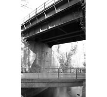 Kriss Kross Bridges Photographic Print