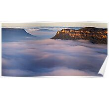 Jamison Valley Mist, Blue Mountains Poster