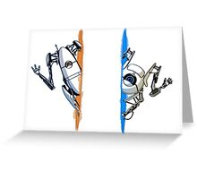 Portal 2 Multiplayer Greeting Card