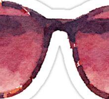 Big Eyes Sunglasses in Watercolor Sticker