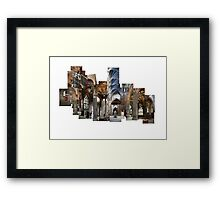 St. Giles Cathedral Montage  Framed Print