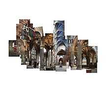St. Giles Cathedral Montage  Photographic Print