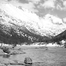 Mills Lake Monochrome by Eric Glaser