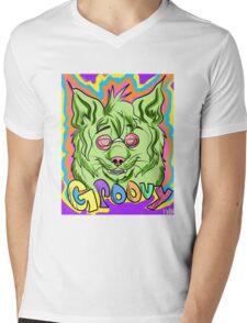 groovy lynx Mens V-Neck T-Shirt