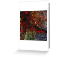 Abstraction Transfusium 2 Greeting Card